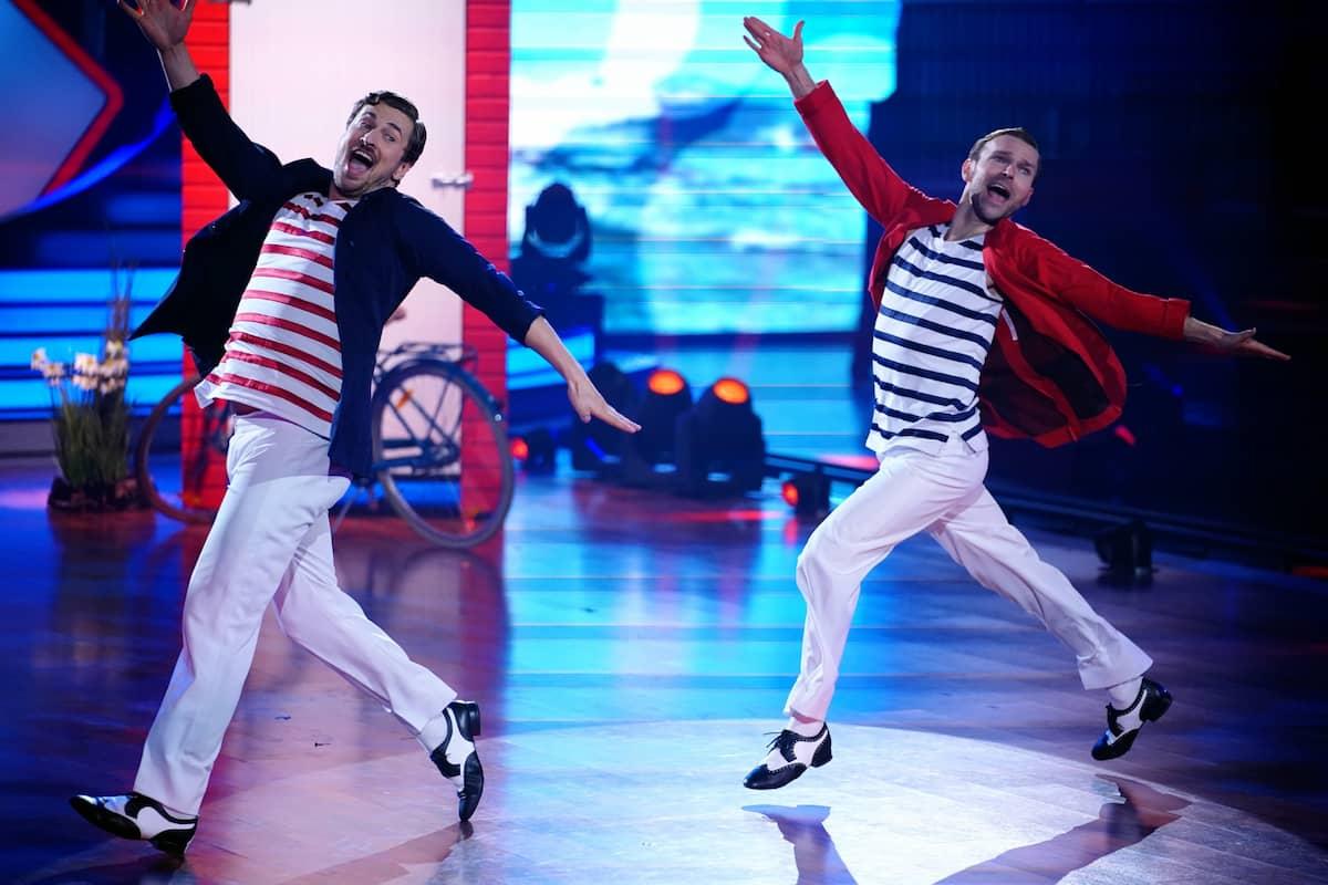 Nicolas Puschmann und Vadim Garbuzov tanzen im Finale Let's dance am 28.5.2021