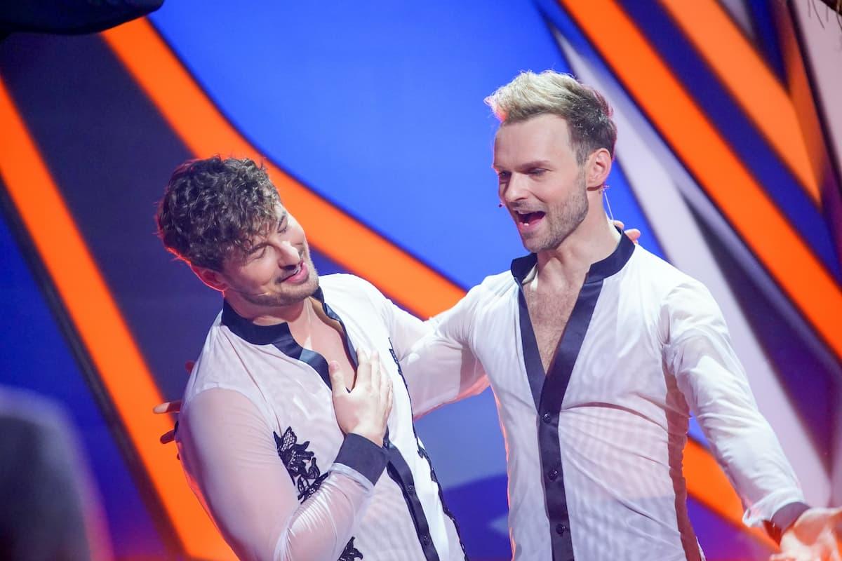 Nicolas Puschmann und Vadim Garbuzov wieder bei Let's dance 2021 dabei am 7.5.2021