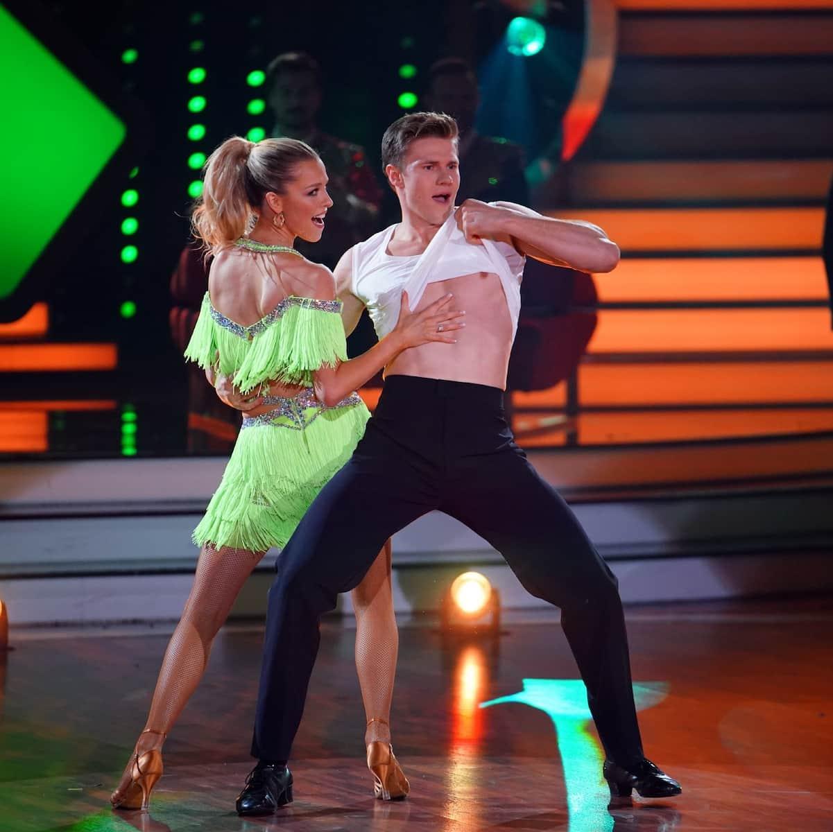 Patricija Belousova und Simon Zachenhuber - Ausgeschieden bei Let's dance am 21.5.2021