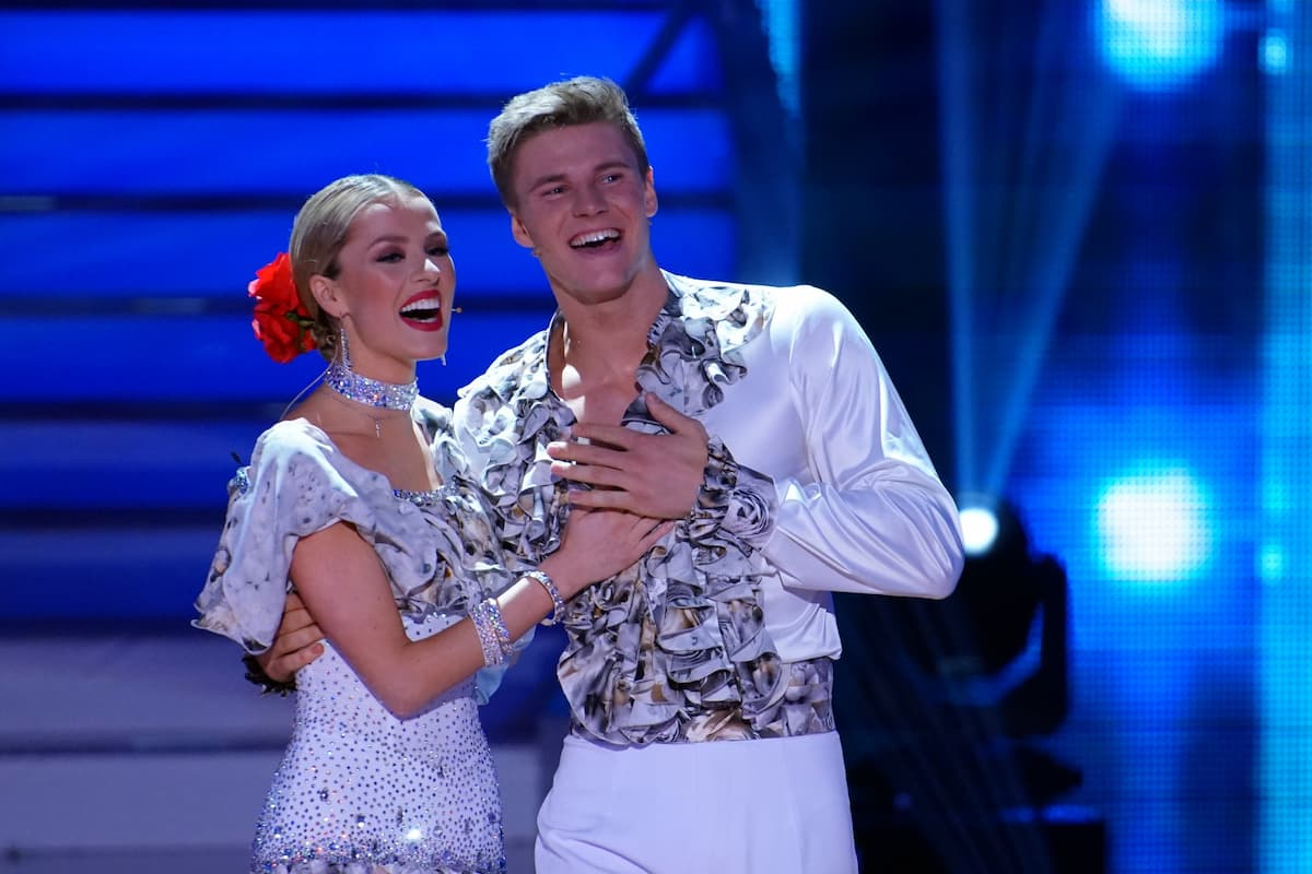 Patricija Belousova und Simon Zachenhuber bei Let's dance am 7.5.2021