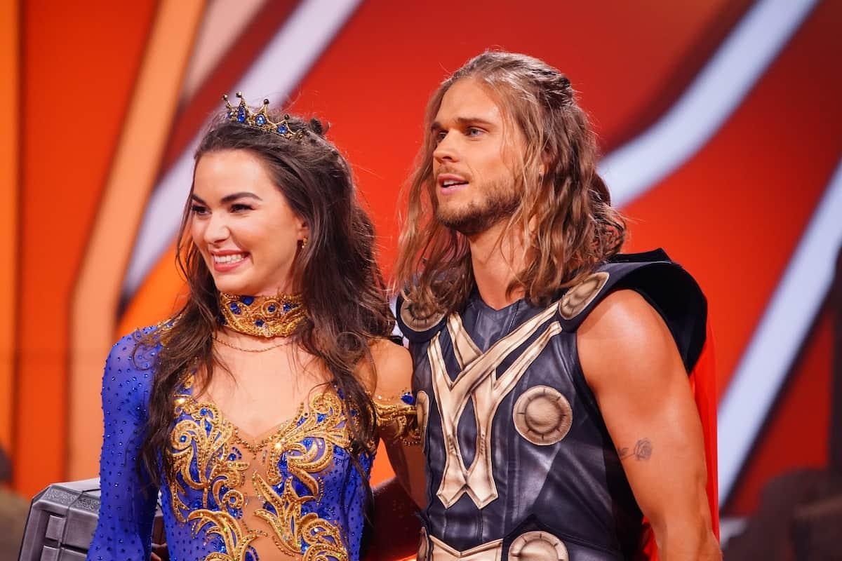 Renata Lusin und Rurik Gislason als Sieger Lets dance 2021
