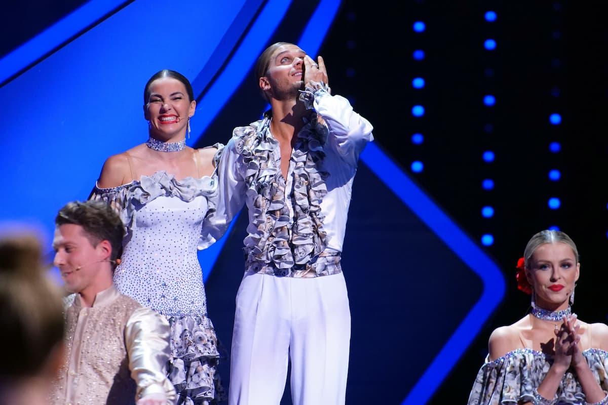 Renata Lusin und Rurik Gislason bei Let's dance am 7.5.2021