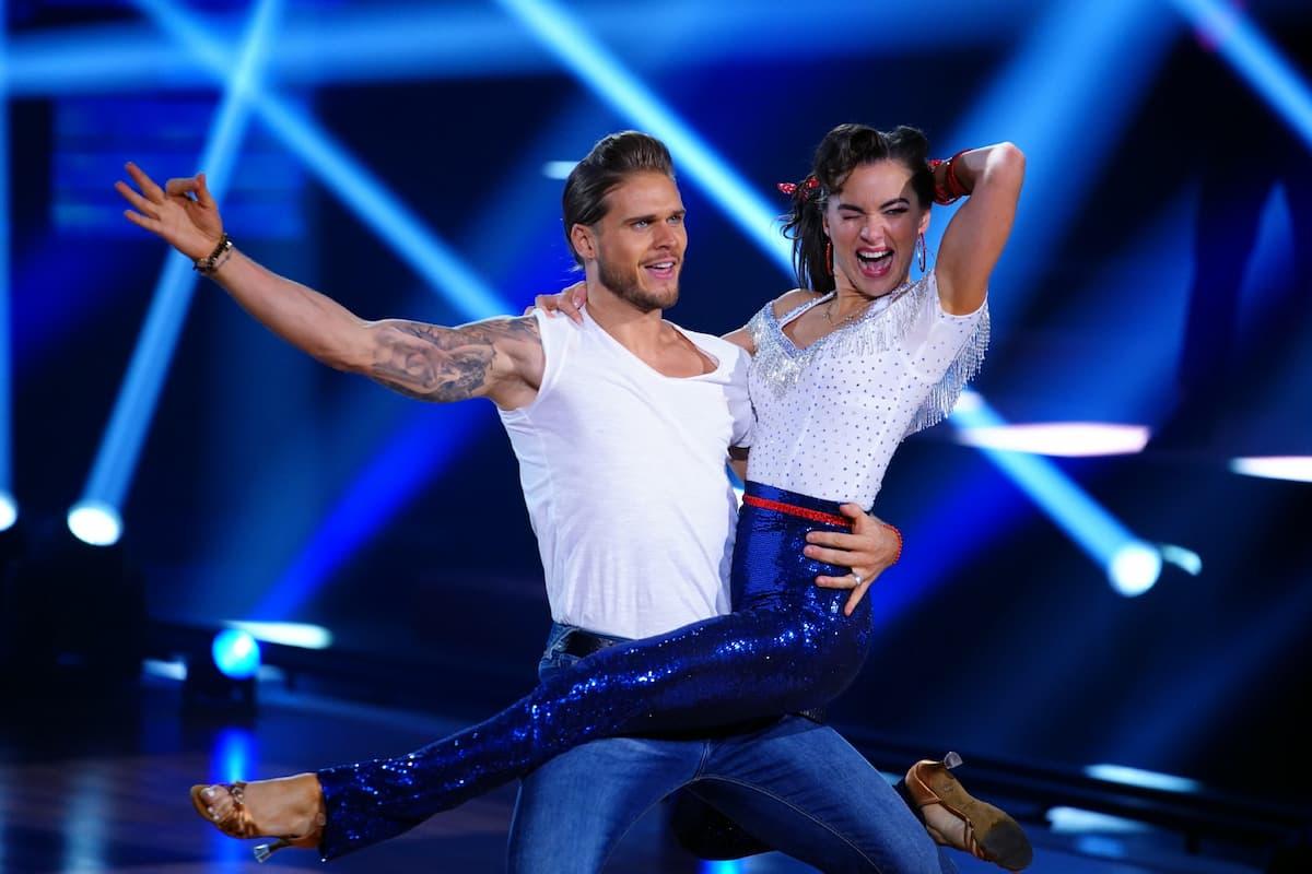 Rurik Gislason - Renata Lusin tanzen im Finale Let's dance am 28.5.2021