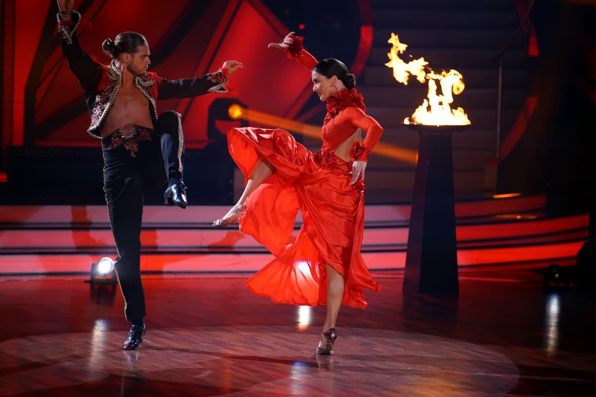Rurik Gislason und Renata Lusin bei Let's dance am 14.5.2021