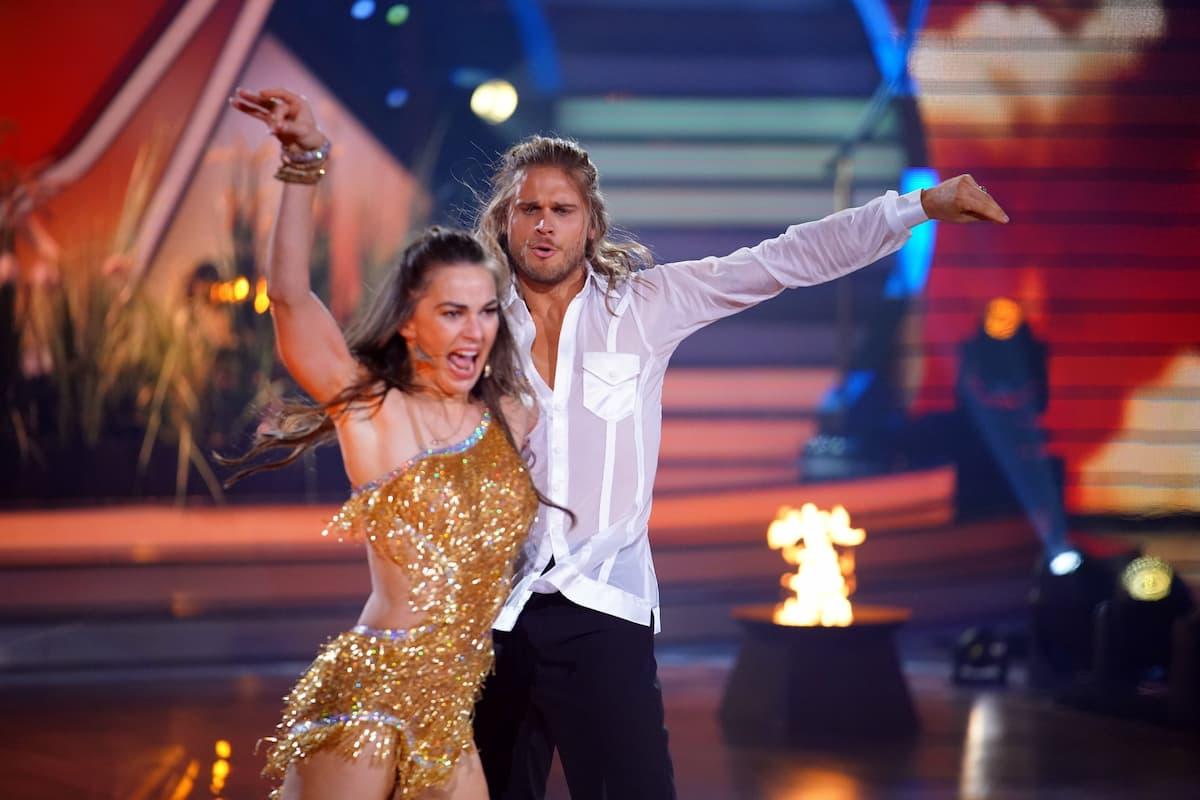 Rurik Gislason und Renata Lusin bei Let's dance am 7.5.2021