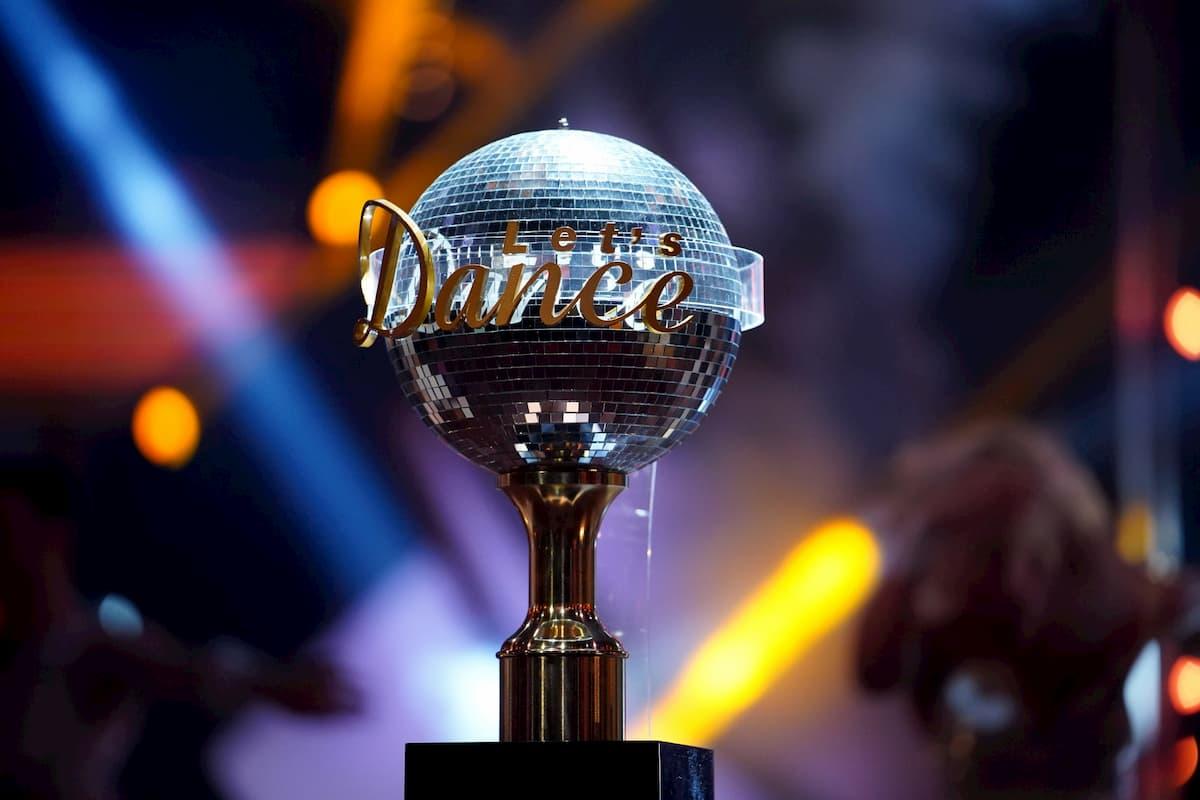 Sieger-Pokal von Let's dance