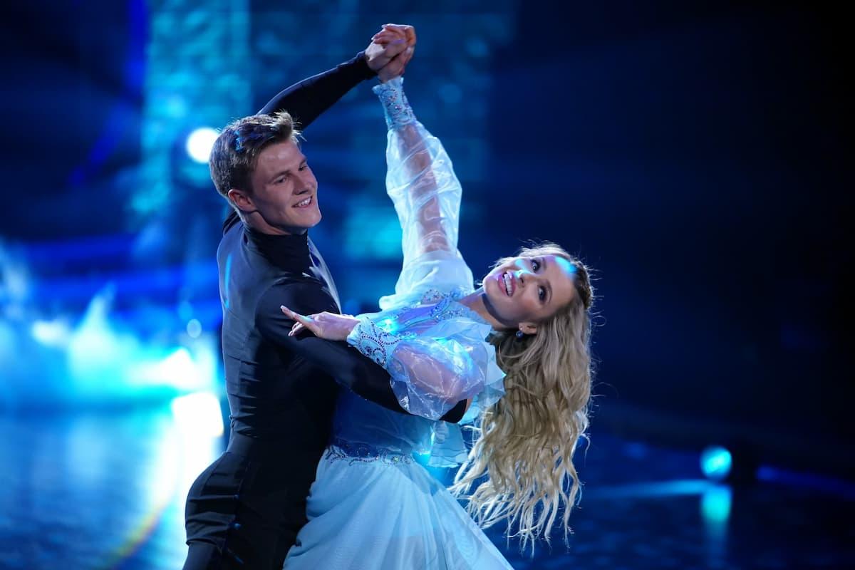 Simon Zachenhuber mit Patricija Belousova - Let's dance am 7.5.2021
