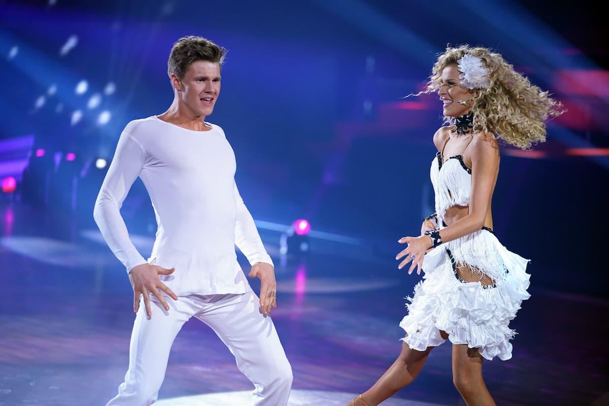Simon Zachenhuber und Patricija Belousova bei Let's dance am 14.5.2021