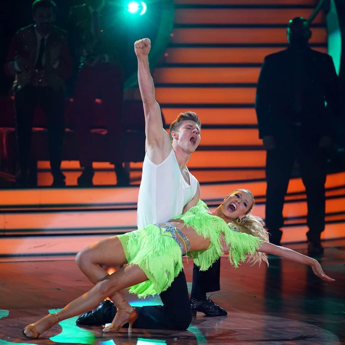 Simon Zachenhuber und Patricija Belousova bei Let's dance am 21.5.2021