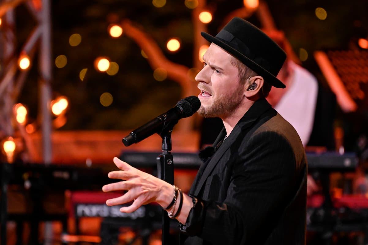 Sing meinen Song - Das Tauschkonzert am 4.5.2021 - hier Johannes Oerding