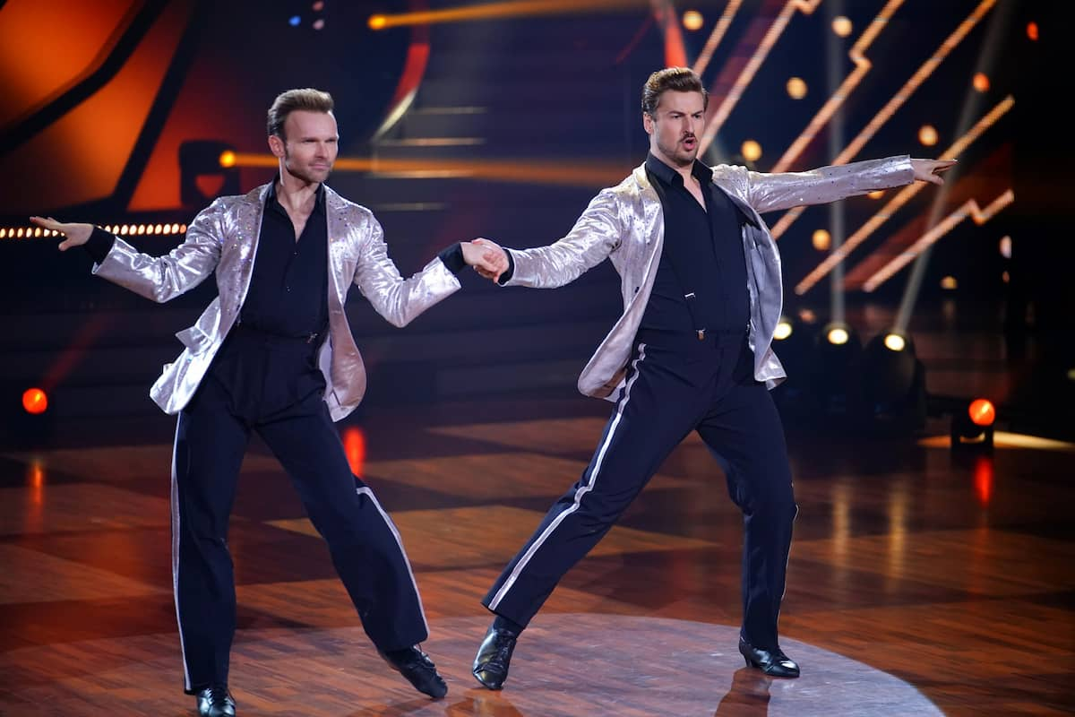 Vadim Garbuzov - Nicolas Puschmann beim Jive Let's dance am 21.5.2021