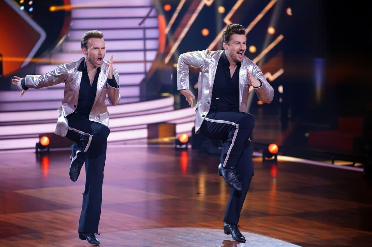 Vadim Garbuzov und Nicolas Puschmann bei Let's dance am 21.5.2021