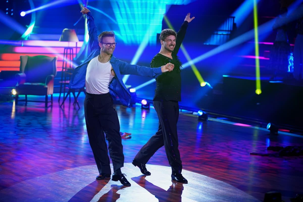 Vadim Garbuzov und Nicolas Puschmann bei Let's dance am 7.5.2021