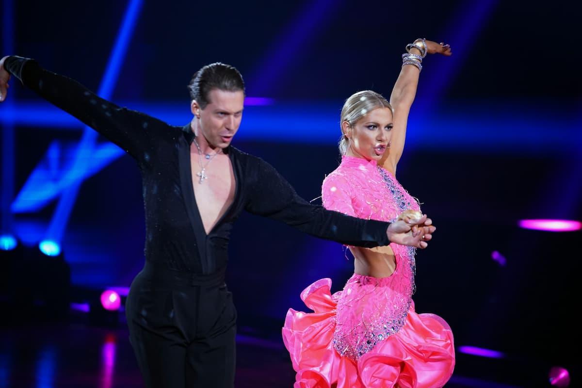 Valentin Lusin und Valentina Pahde bei Let's dance am 21.5.2021