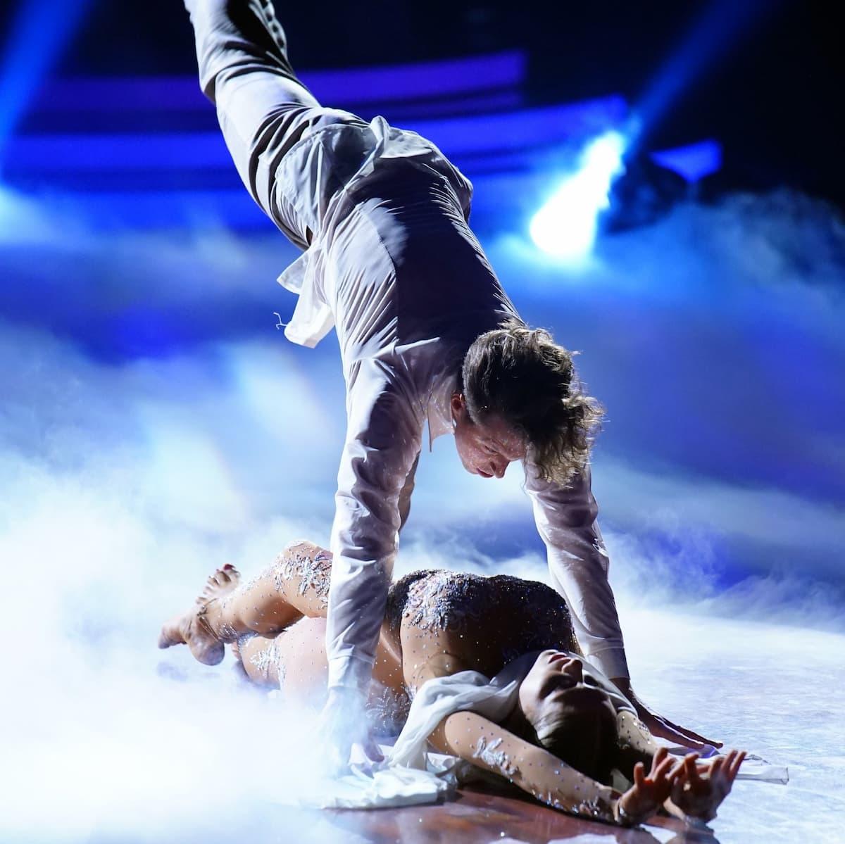 Valentin Lusin und Valentina Pahde beim Freestyle Let's dance am 7.5.2021