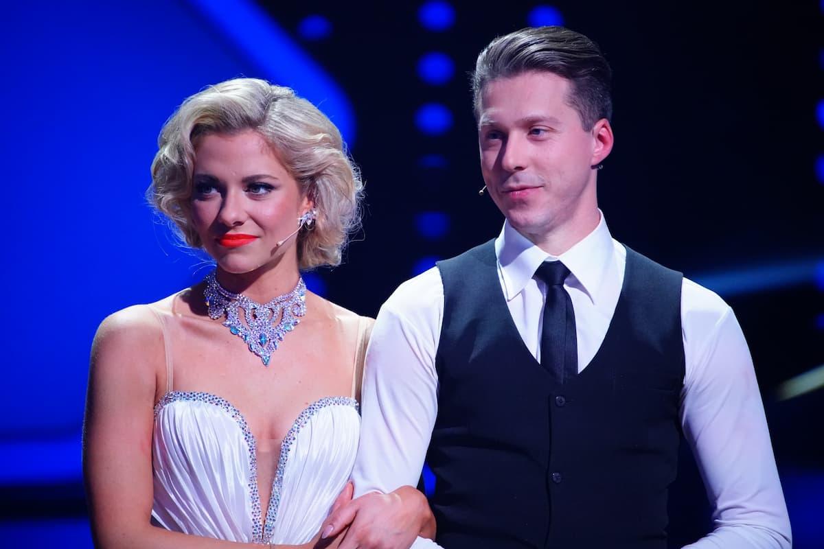 Valentina Pahde - Valentin Lusin Platz 2 im Finale Let's dance am 28.5.2021