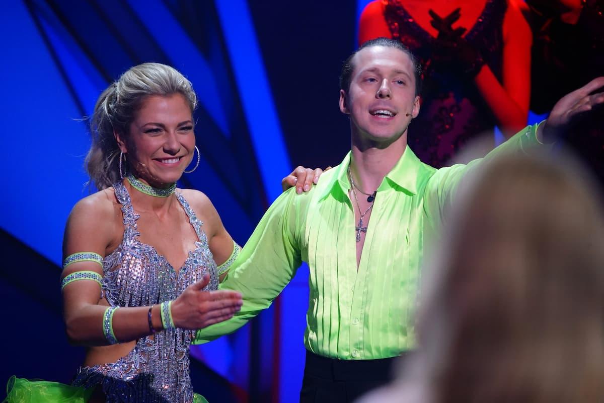 Valentina Pahde und Valentin Lusin bei Let's dance am 14.5.2021