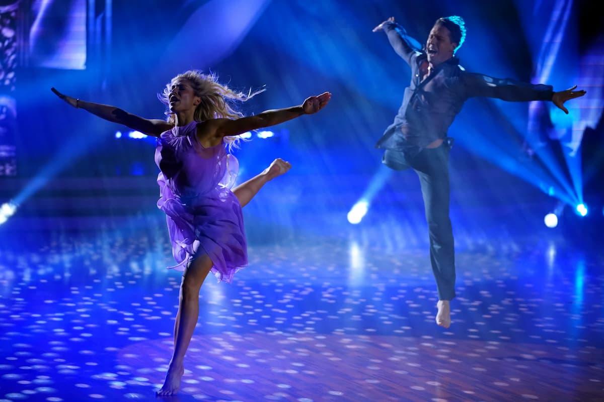Valentina Pahde und Valentin Lusin beim Contemporary Let's dance am 14.5.2021