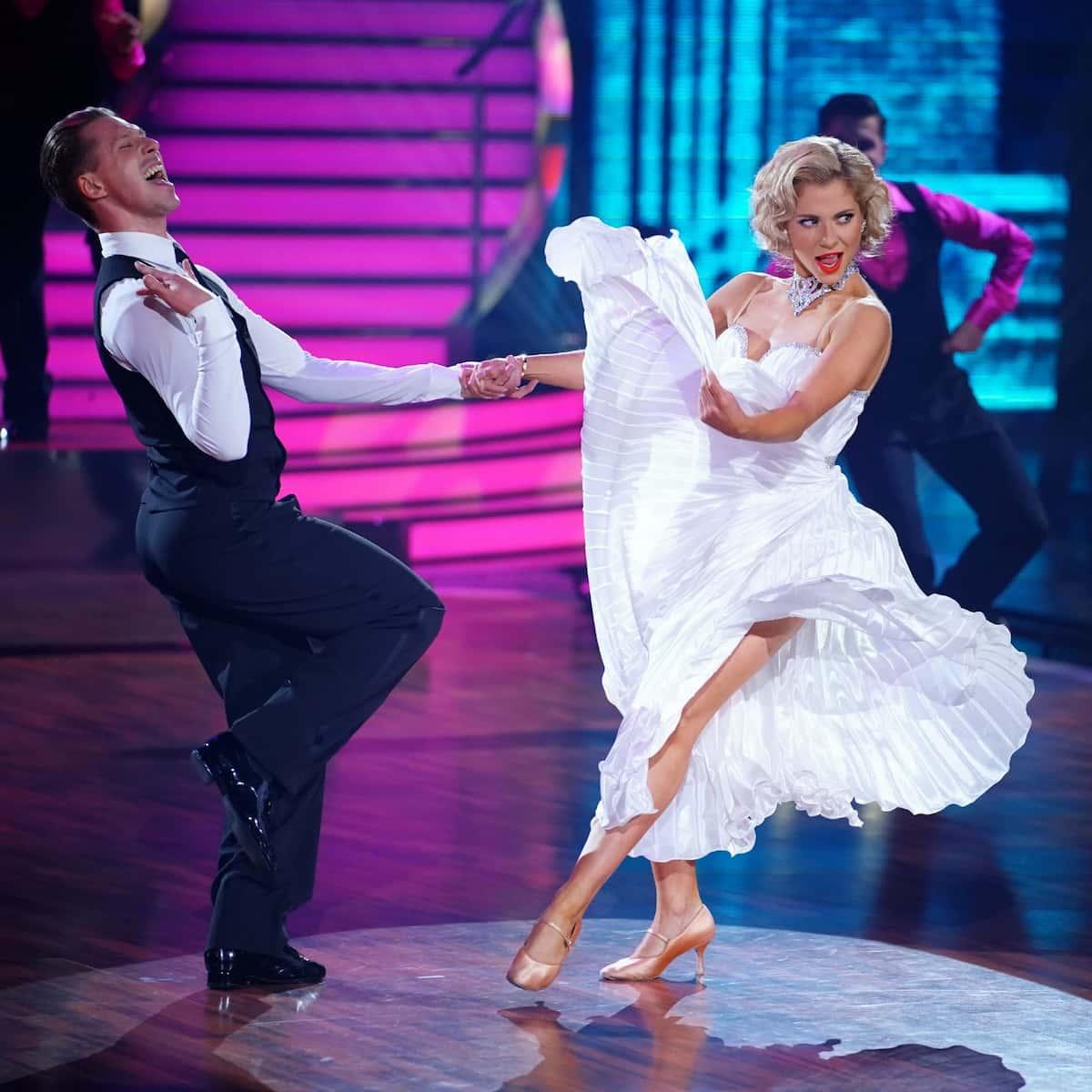 Valentina Pahde und Valentin Lusin in ihrer Kür im Finale Let's dance am 28.5.2021