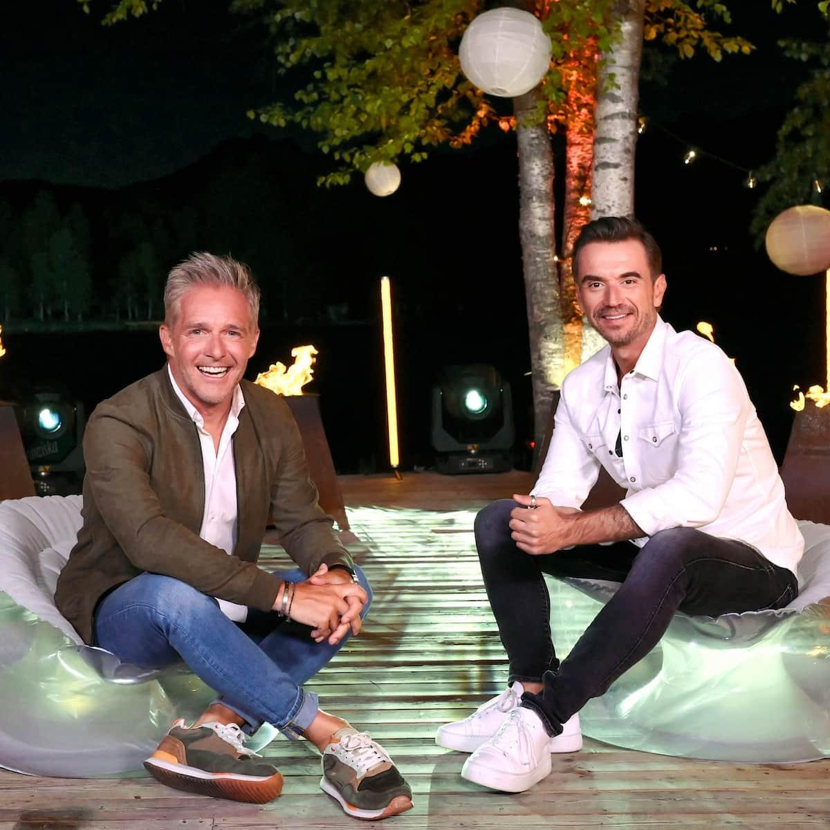 Christoff mit Florian Silbereisen beim Schlager-Countdown am 5.6.2021
