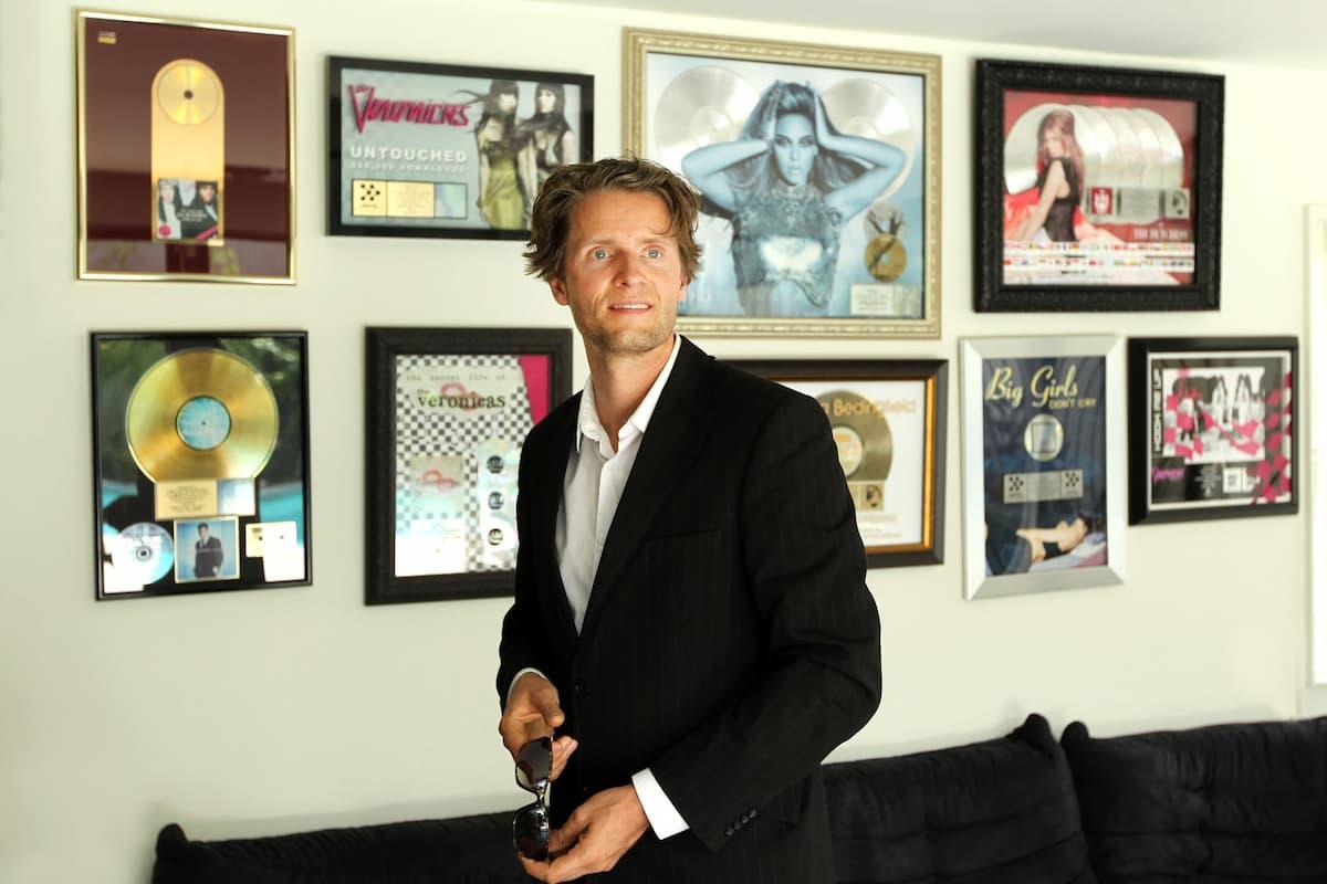 DSDS-Jury 2022 mit Toby Gad - Musik-Produzent