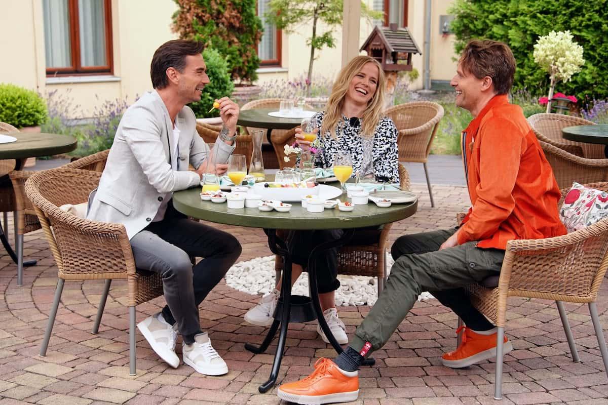 Florian Silbereisen, Ilse DeLange und Toby Gad bei den Jury-Castings DSDS 2022