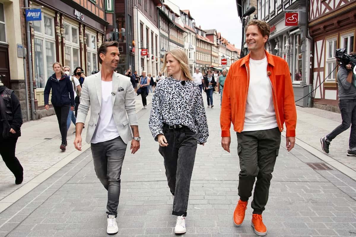 Jury DSDS 2022 bei den Jury-Castings - im Bild Florian Silbereisen, Ilse DeLange und Toby Gad