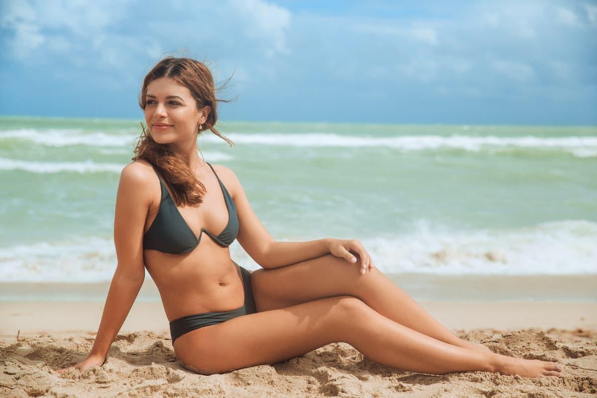 Maxime Herbord im Bikini vor 3 Jahren als Bachelor-Kandidatin