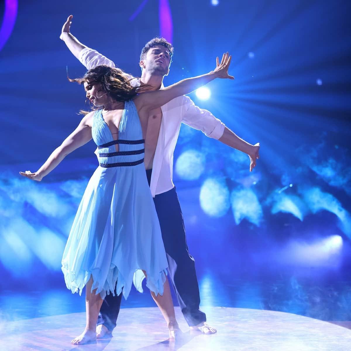 Platz 3 bei der Let's dance Profi-Challenge 2021 Christina Luft und Luca Hänni