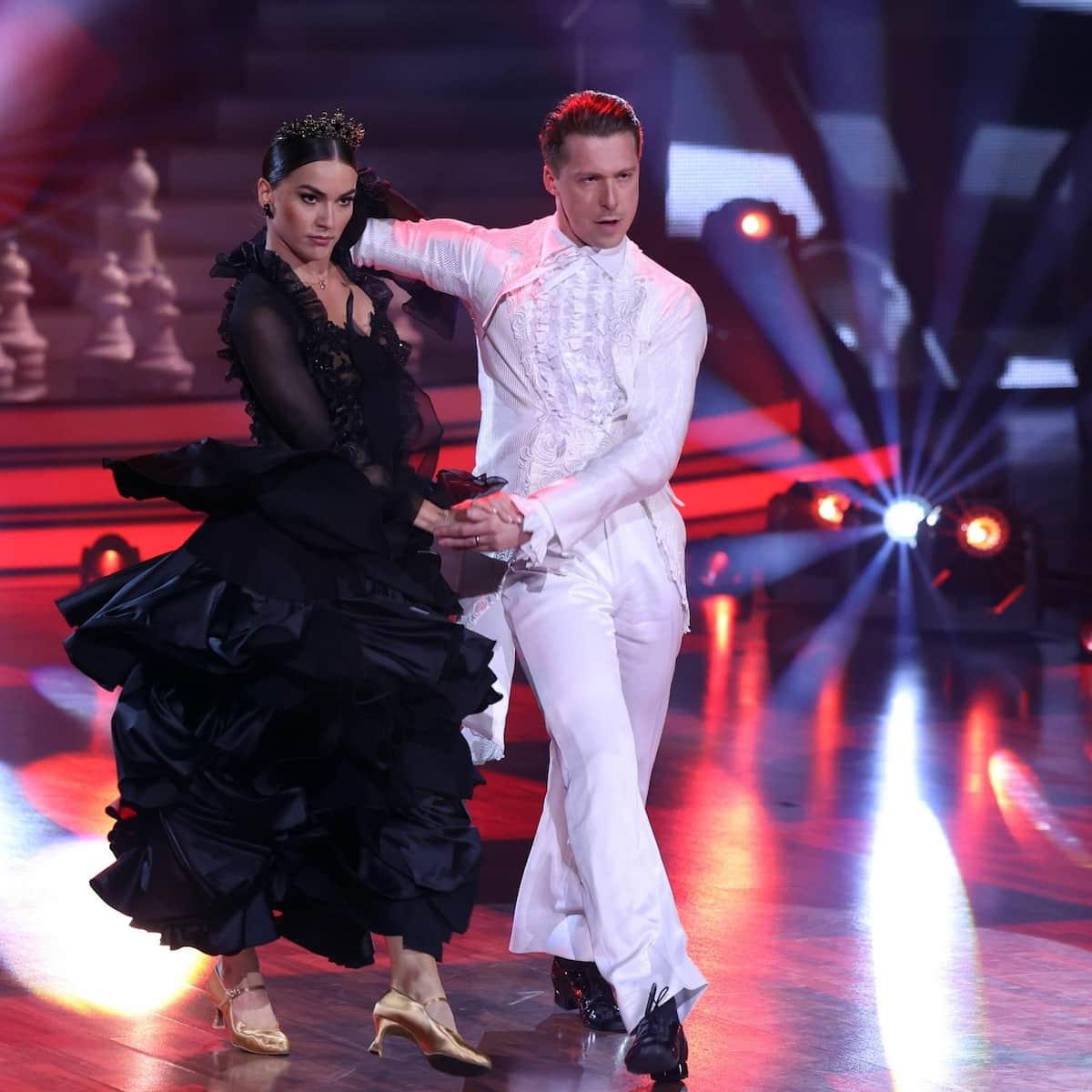 Renata die Große und Valentin Lusin Profi-Challenge Let's dance am 4.6.2021