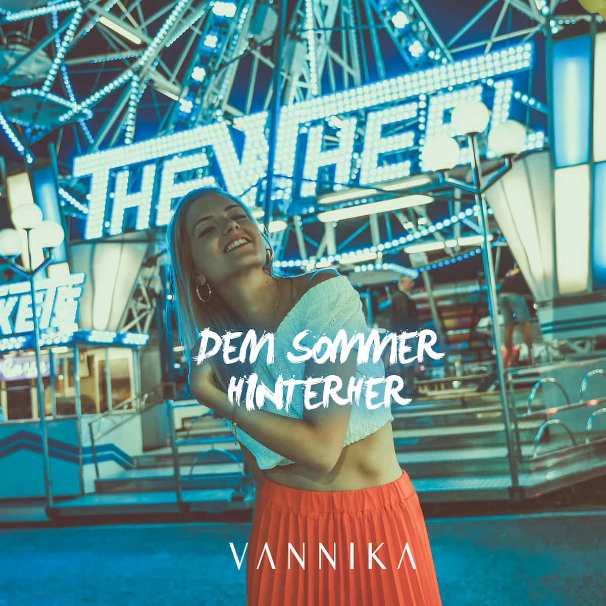 """Vannika Neuer Schlager """"Dem Sommer hinterher"""" veröffentlicht"""