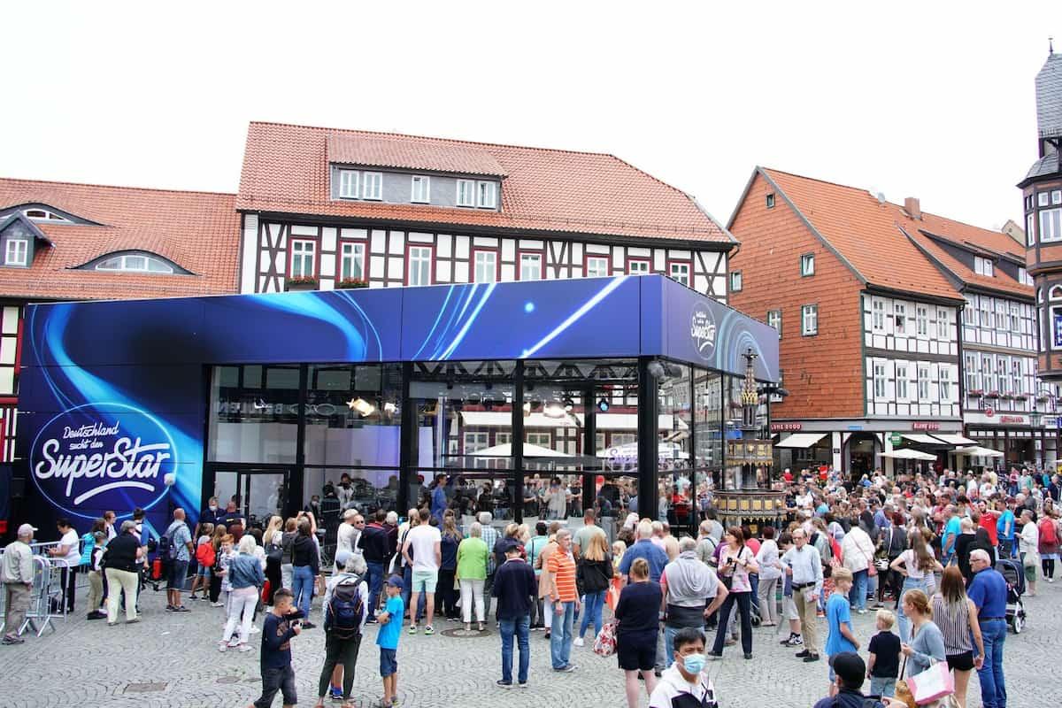 DSDS-Jury-Castings 2022 in Wernigerode