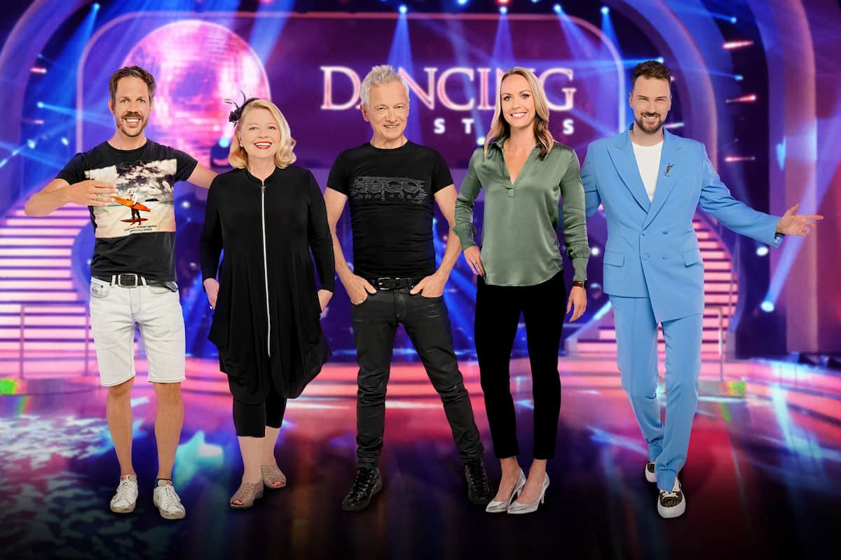 Dancing Stars 2021 Kandidaten Bernhard Kohl, Margarethe Tiesel, Boris Bukowski, Jasmin Ouschan, Niko Niko