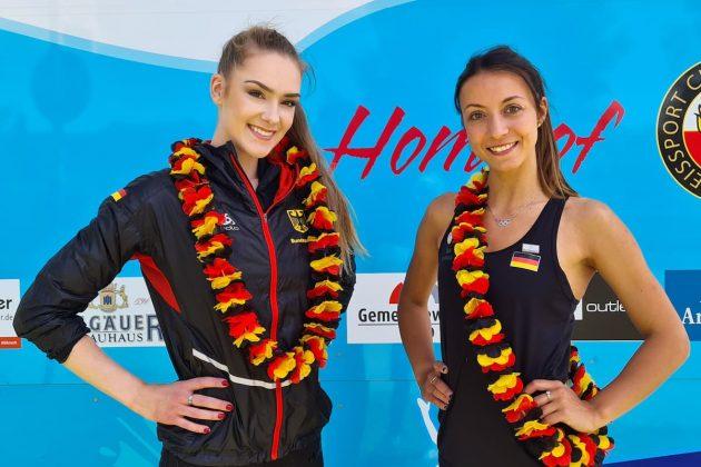 Eiskunstlauf: Deutsche Eiskunstläufer bitten um Hilfe - hier Kristina Isaev und Nicole Schott