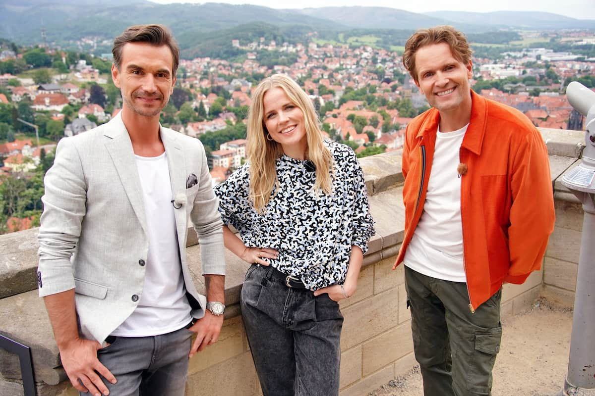 Die neue DSDS-Jury 2022 bei der Arbeit - hier im Bild Florian Silbereisen, Ilse DeLange und Toby Gad