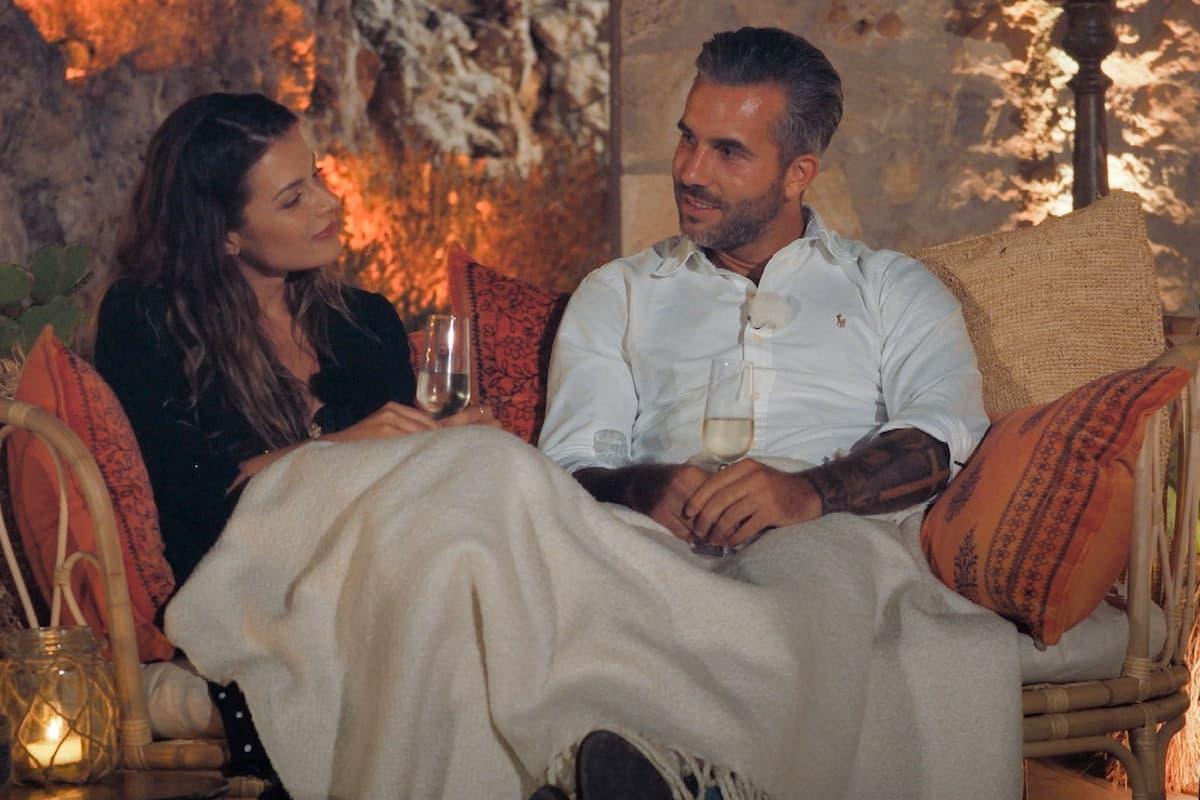 Maxime und Max beim Einzel-Date Bachelorette am 4.8.2021