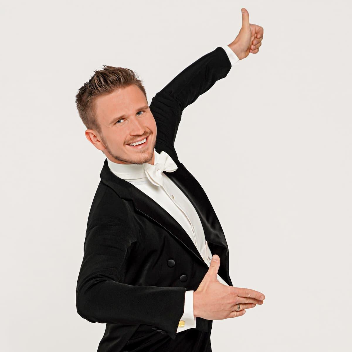 Michael Kaufmann - neu als Profitänzer bei den Dancing Stars 2021 dabei