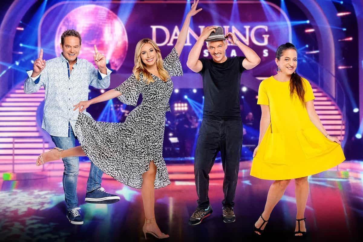 Promi-Kandidaten Dancing Stars 2021 Otto Konrad, Nina Kraft, Faris Rahoma, Caroline Athanasiadis