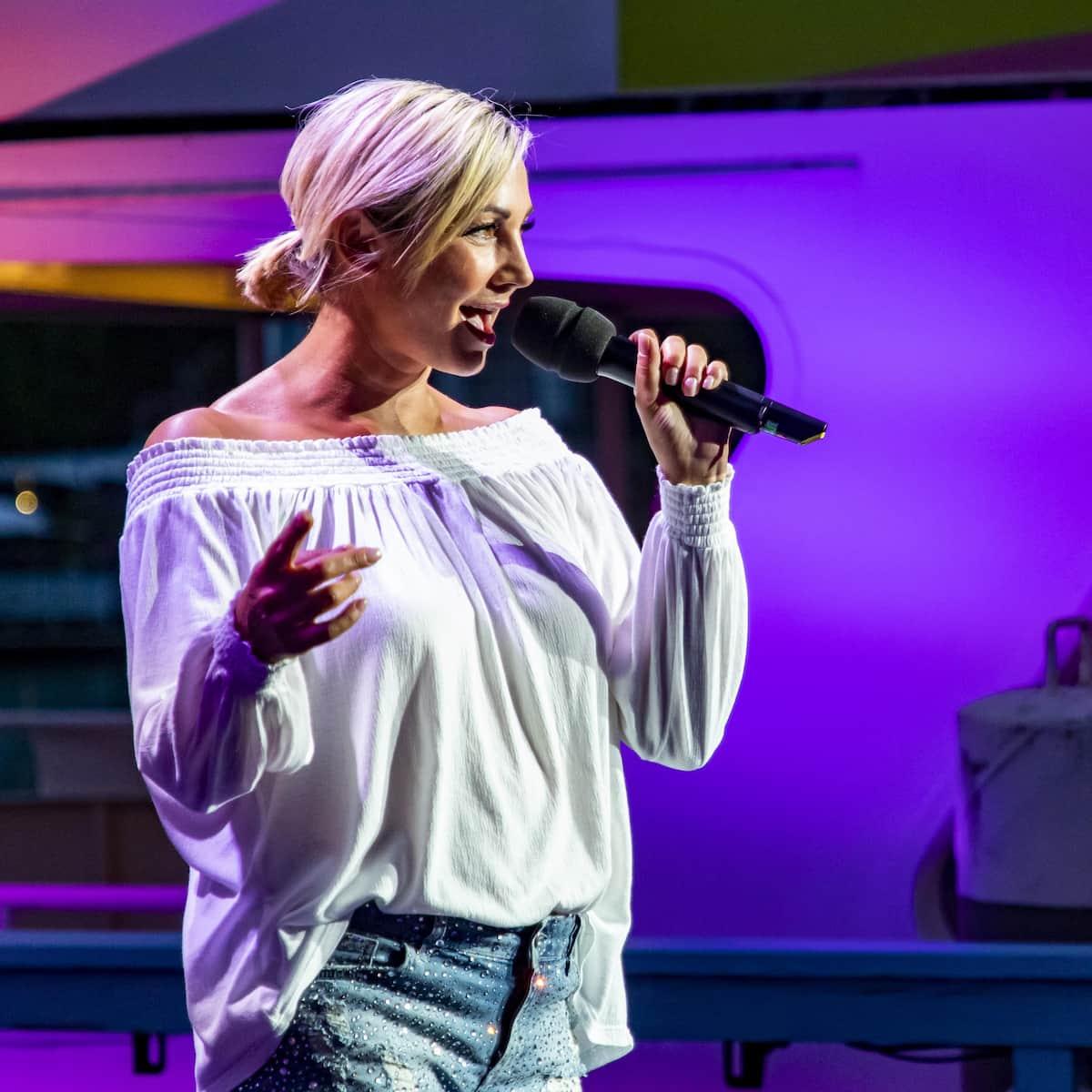Tanja Lasch zu Gast bei Stars am Wörthersee am 24.7.2021