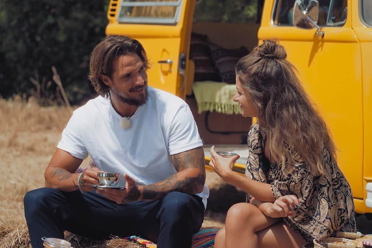 Bachelorette am 1.9.2021 Maxime mit Zico beim Dream-Date