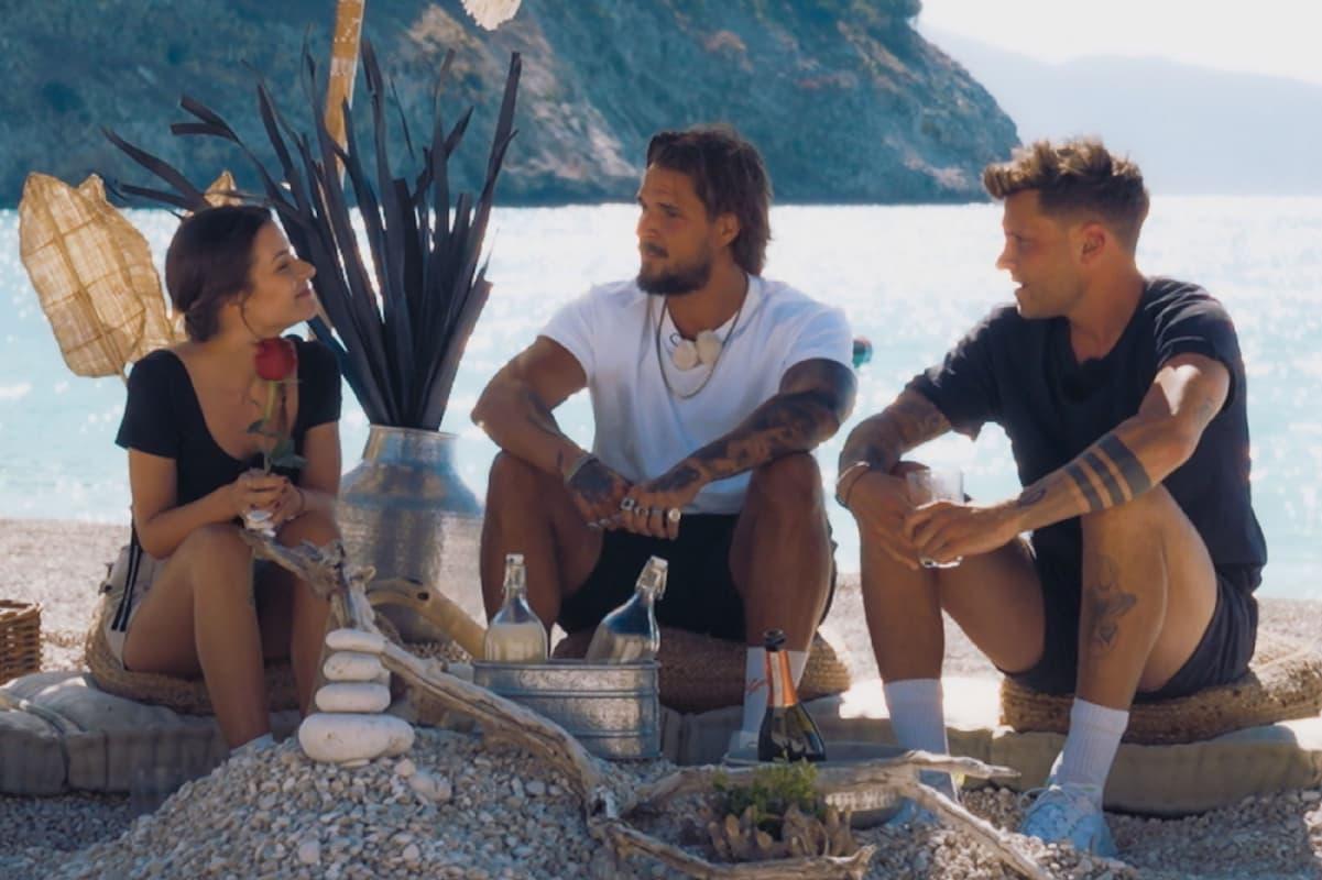 Bachelorette am 11.8.2021 - Doppel-Date von Maxime mit Zico und Dominik