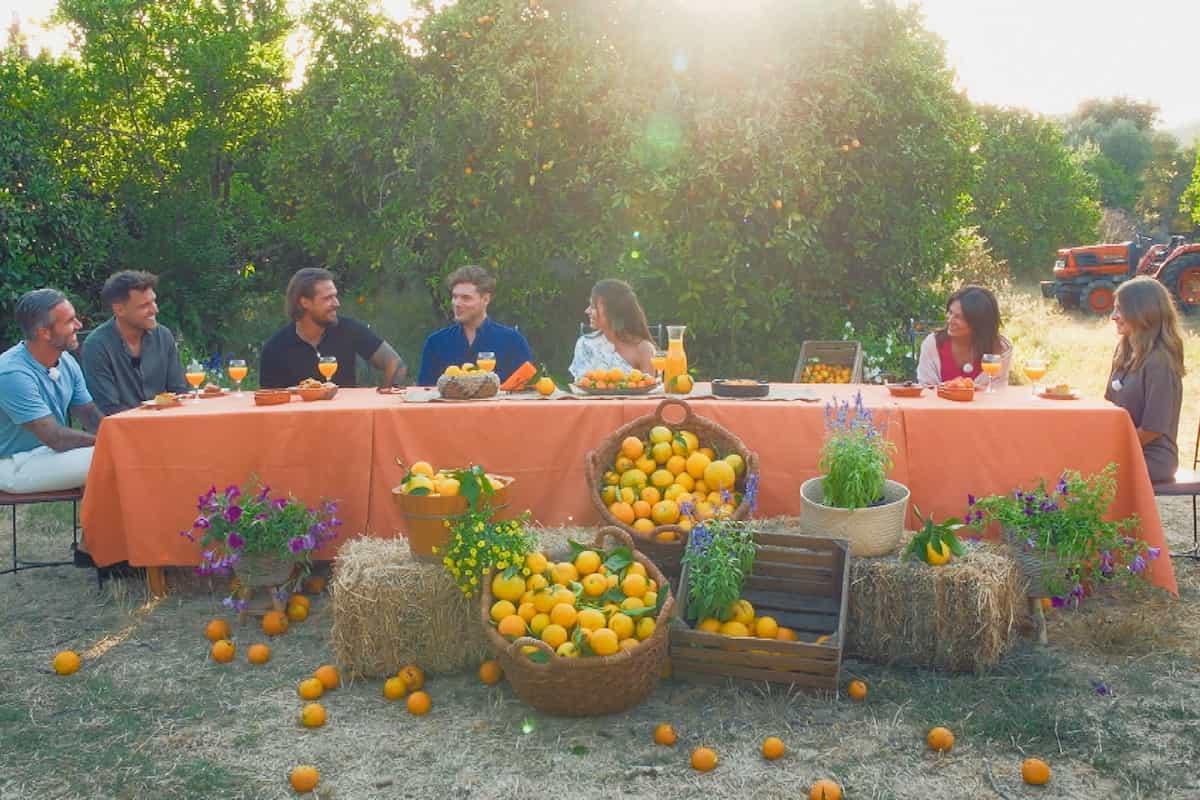 Maxime und die 4 Kandidaten treffen die Mutter und die beste Freundin von Maxime - Bachelorette 25.8.2021