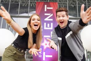 Supertalent 2021 Moderatoren sind Lola Weippert und Chris Tall