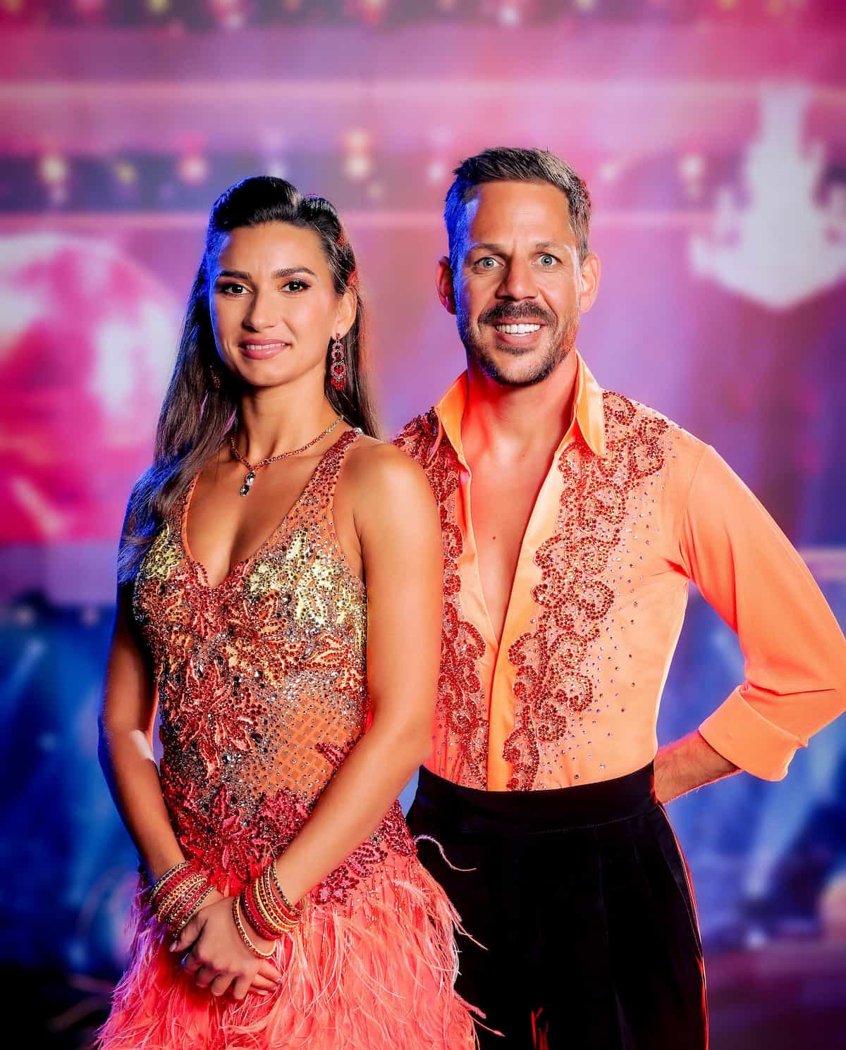Bernhard Kohl - Vesela Dimova in der 1. Show Dancing Stars am 24.9.2021