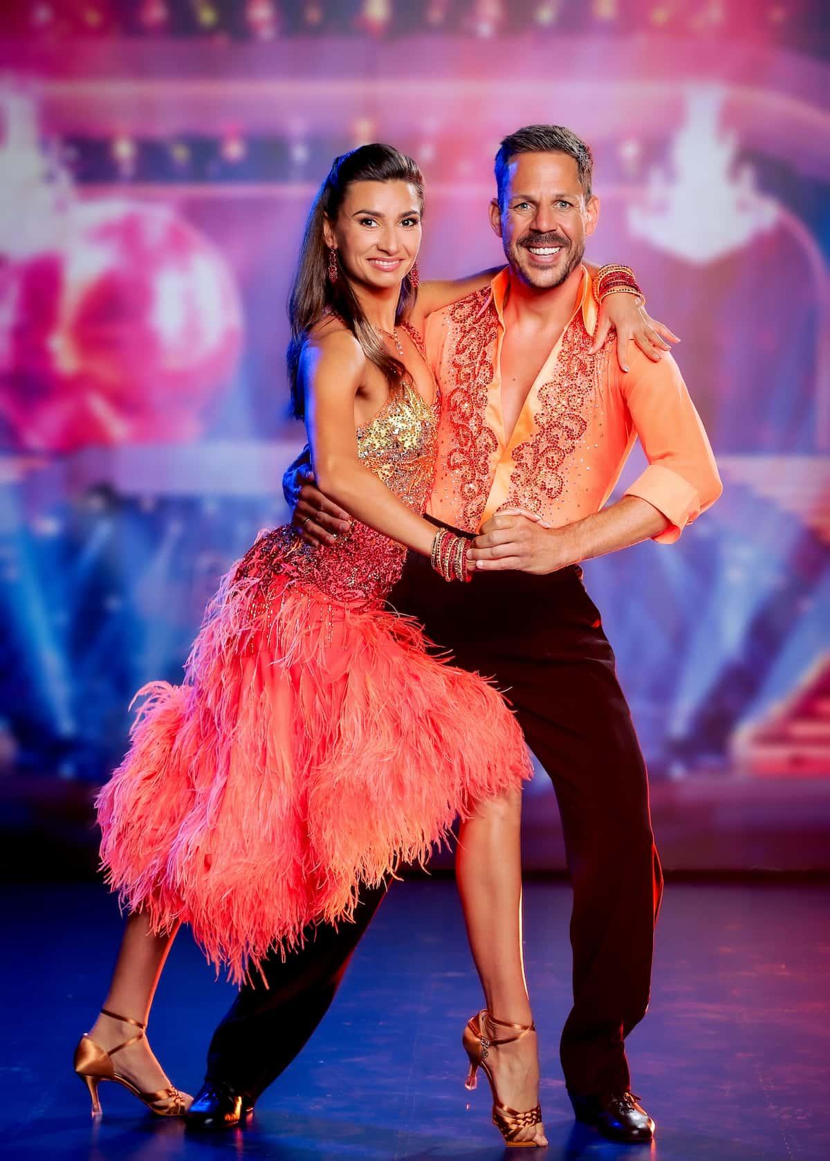 Bernhard Kohl und Vesela Dimova bei den Dancing Stars 24.9.2021