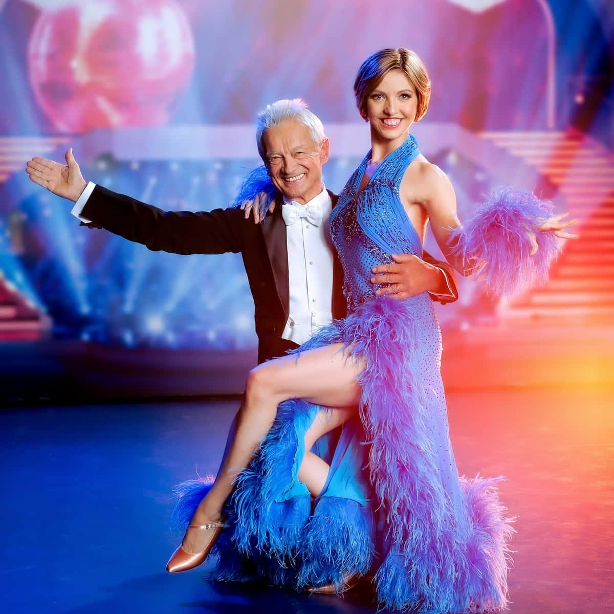 Boris Bukowski - Julia Burghardt zum Auftakt Dancing Stars am 24.9.2021