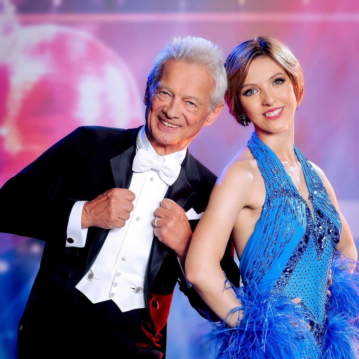 Boris Bukowski und Julia Burghardt bei den Dancing Stars 24.9.2021