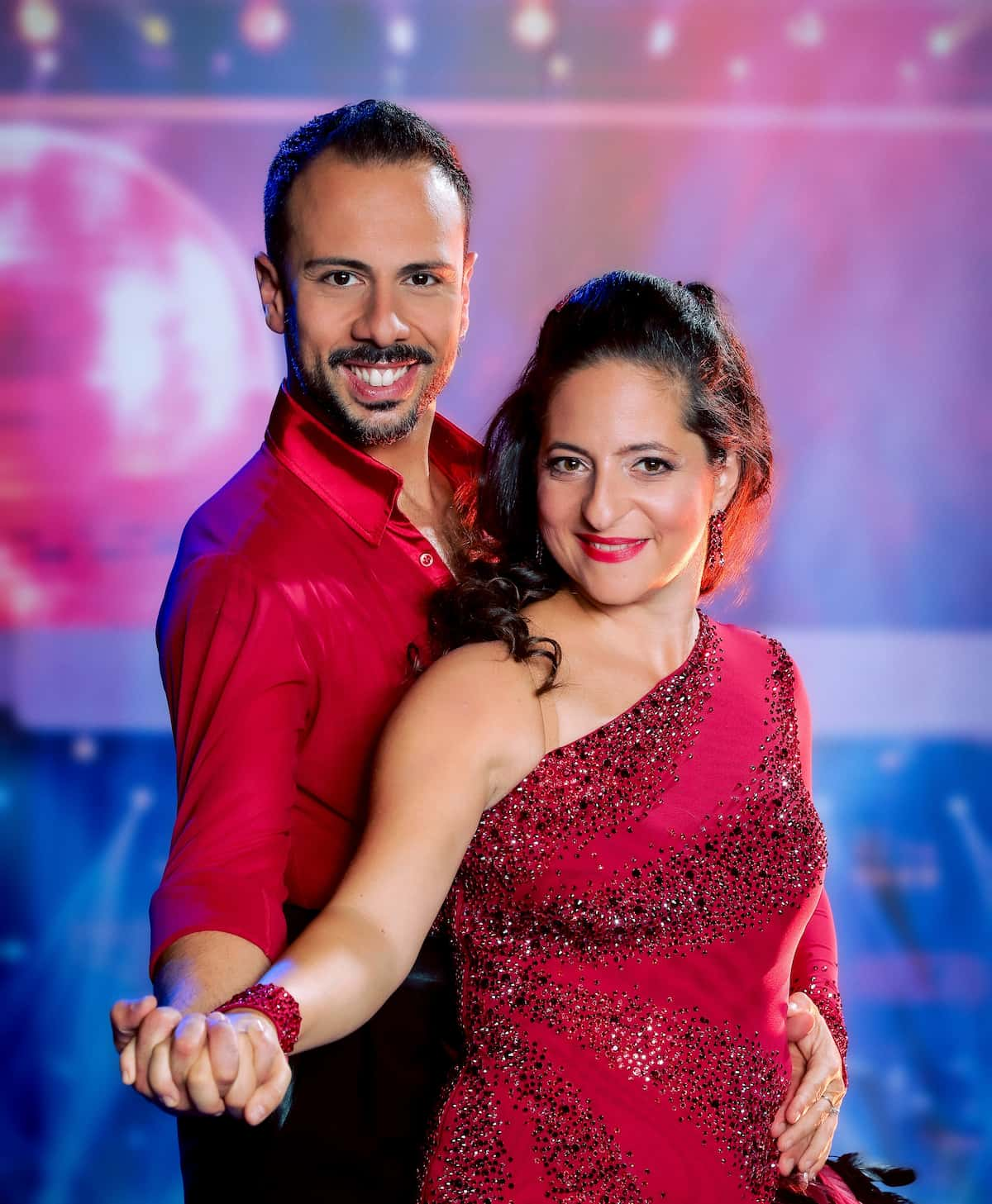 Caroline Athanasiadis - Danilo Campisi beim Start der Dancing Stars am 24.9.2021