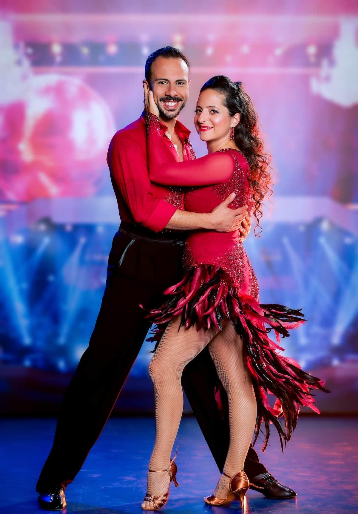 Caroline Athanasiadis und Danilo Campisi bei den Dancing Stars 24.9.2021