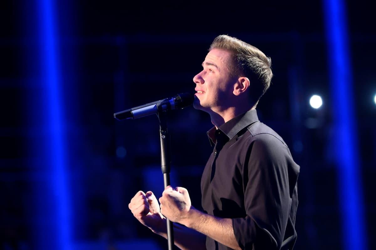Eric Philippi singt bei der Schlager-Challenge am 4.9.2021